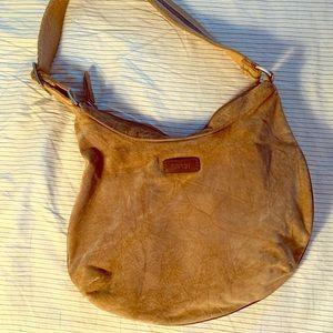 Esprit women's suede handbag